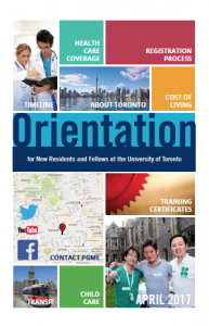 Image of the cover page of the 2017 Orientation booklet, linked to the PDF version of the document